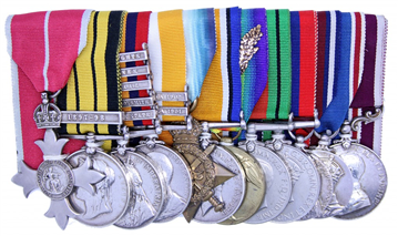 South African Medal group