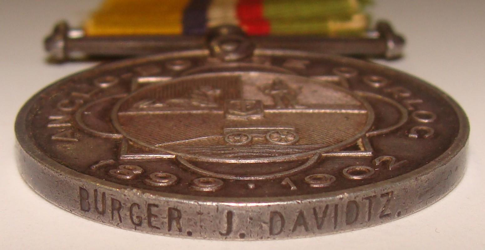 ABO Medal - Davidtz, J - Burger