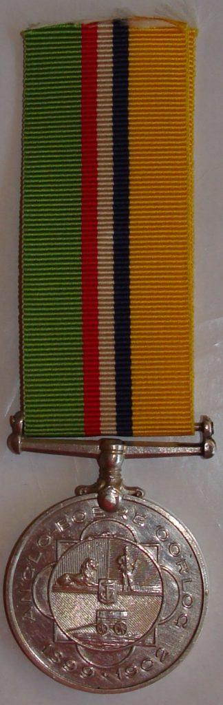 ABO medal Troskie PP Burger