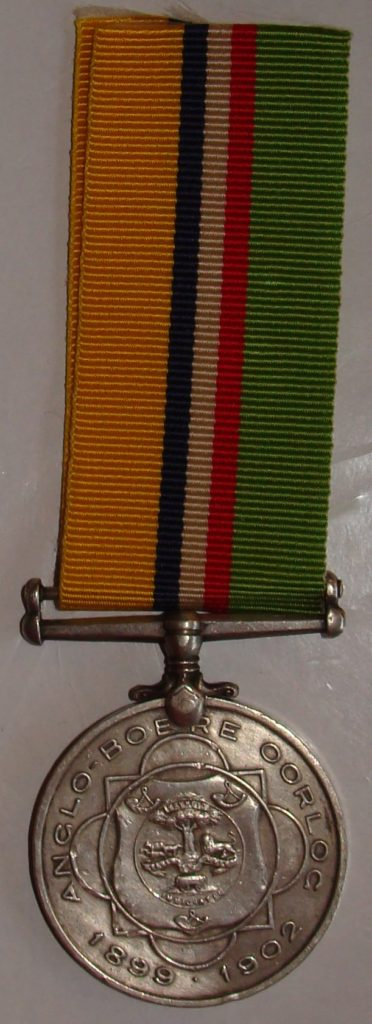 ABO Medal - Rabie, AP Burger