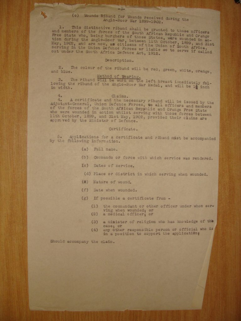 DTD and ABO Medal Regulations & Rulings - Page 5